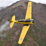 Formation flying over Eagle River, Alaska