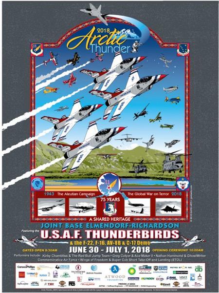 Arctic Thunder 2018 Poster
