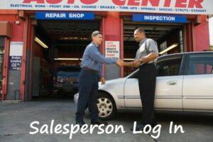 Sales Log in