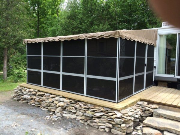 3-Sided Screened Room Northern Ontario