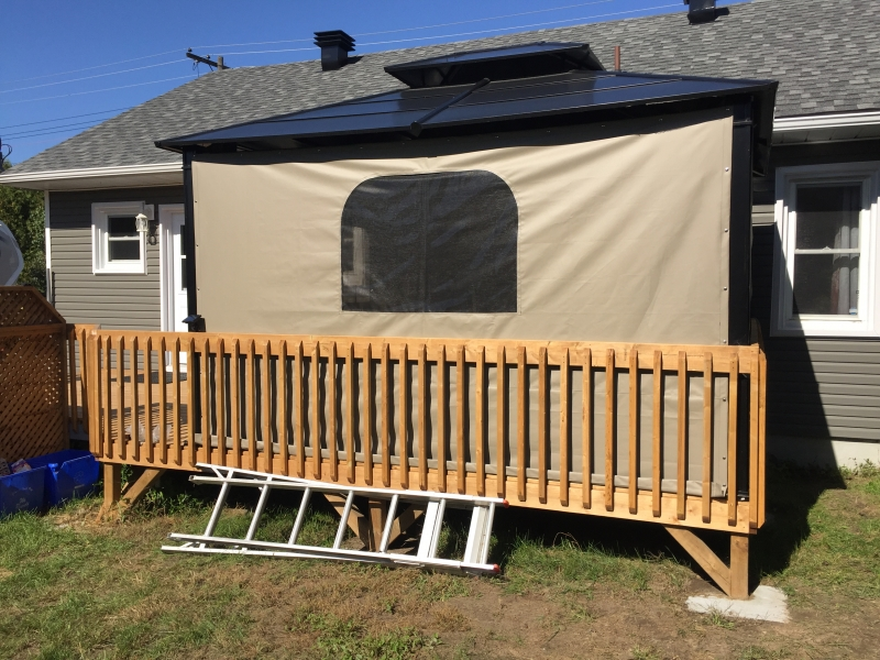 Custom Canvas Enclosures Huntsville Ontario