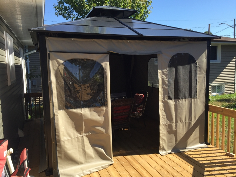 Custom Canvas Enclosures Gazebos Huntsville Ontario