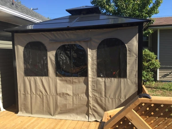 Custom Manufactured Canvas Gazebos