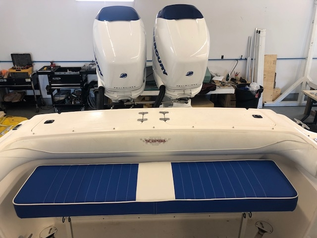 Boat Interior and Seat Recovering and Custom Upholstery Ontario