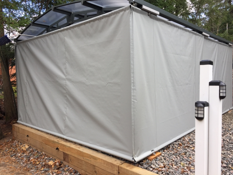 Custom Canvas Carport Enclosures Ontario