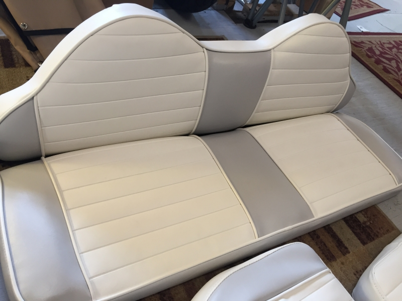Boat Interior and Seat Recovering and Custom Upholstery North Bay