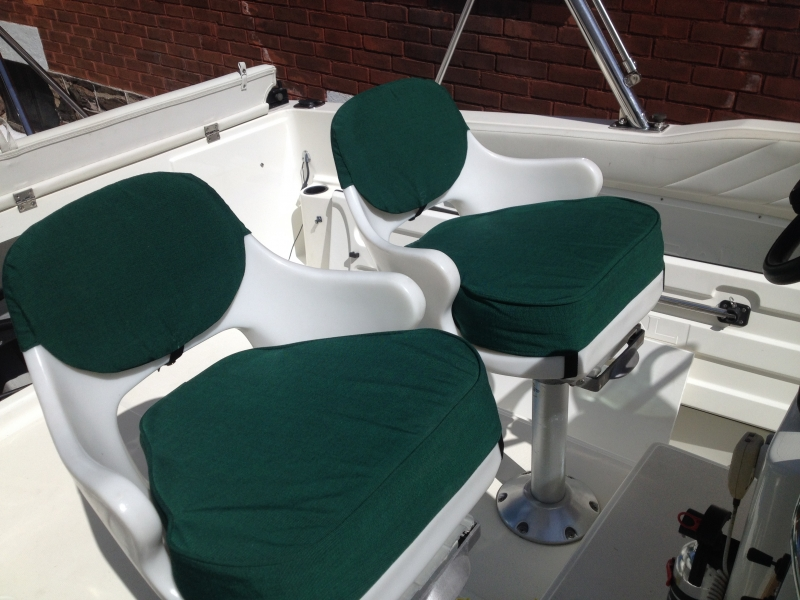 Boat Seat Recovering