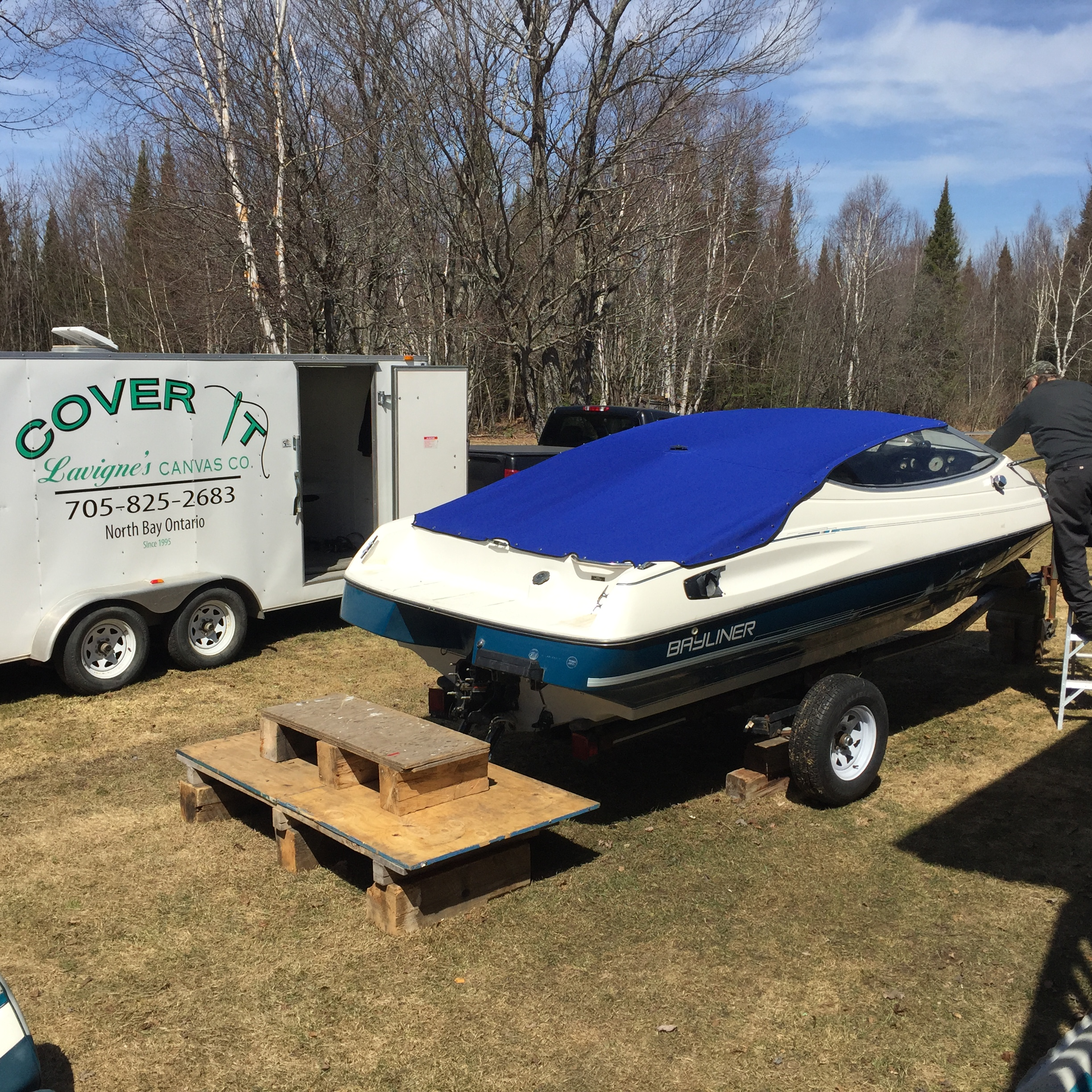 Mooring Covers Northern Ontario