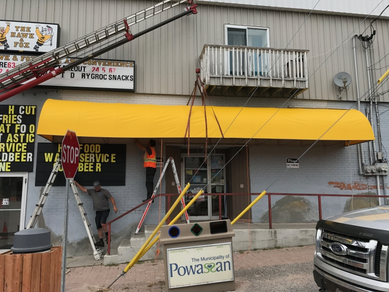 Commercial Awnings Ontario