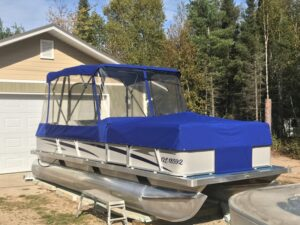 Pontoon Enclosure North Bay Ontario