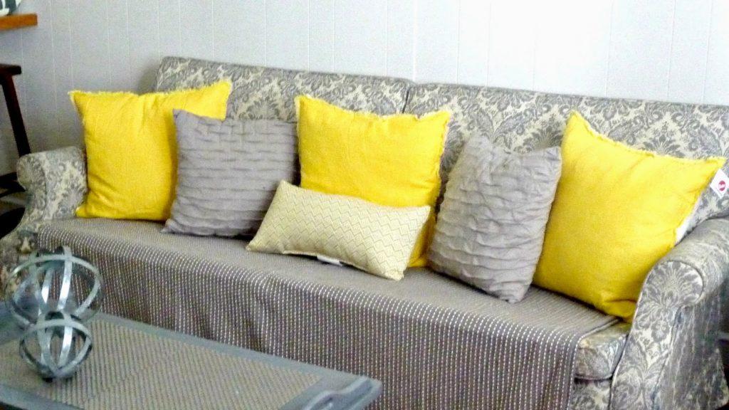 decorating ideas gunmetal grey and yellow world market target crate&barrel