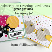 subscription greeting card box
