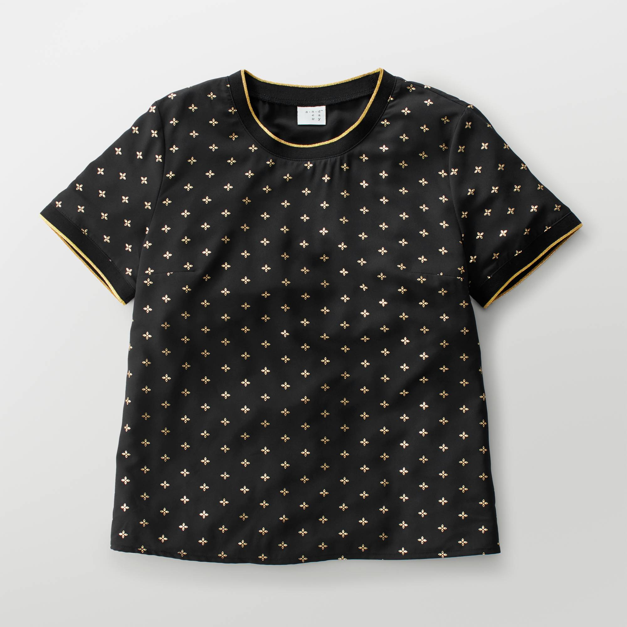 a new day foil crepe t shirt