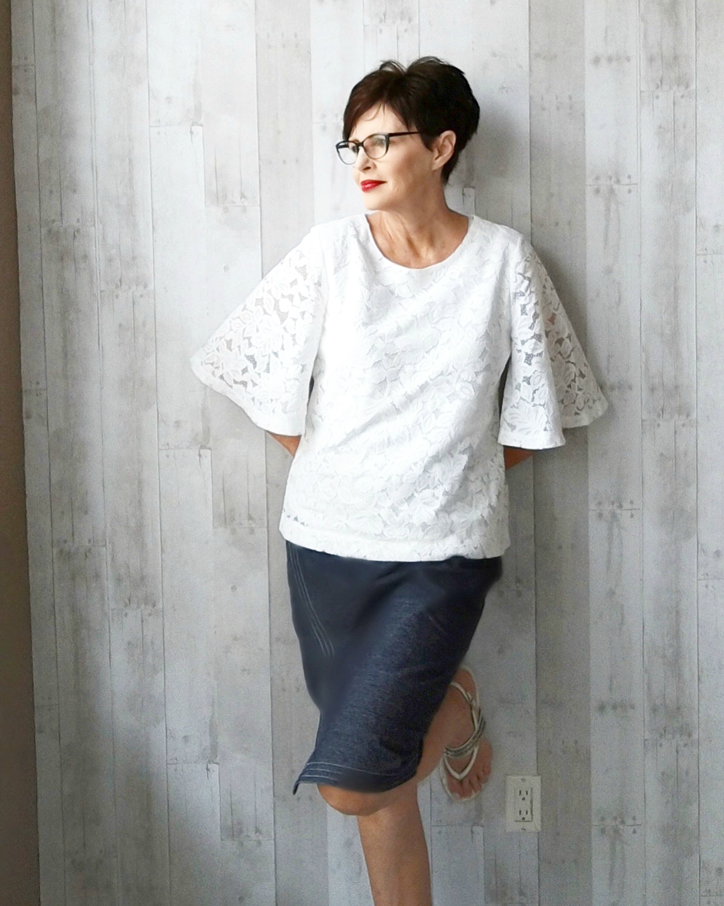 banana-republic-lace-flare-sleeve-top