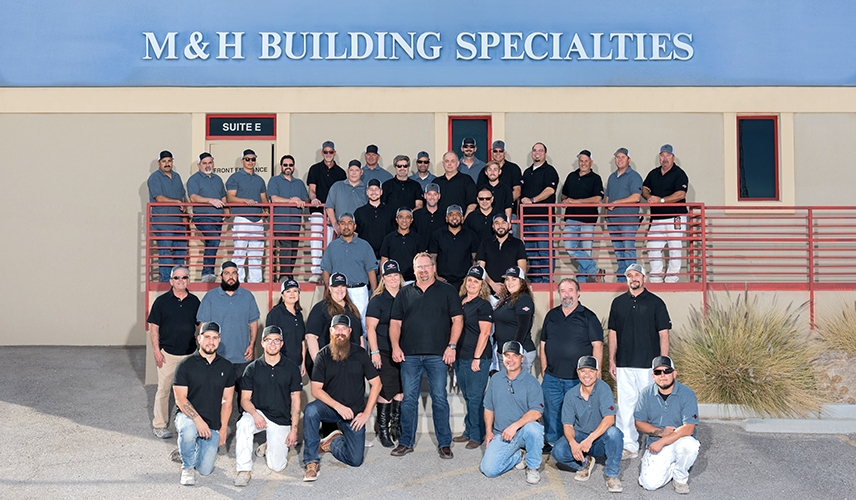 M & H Building team photo