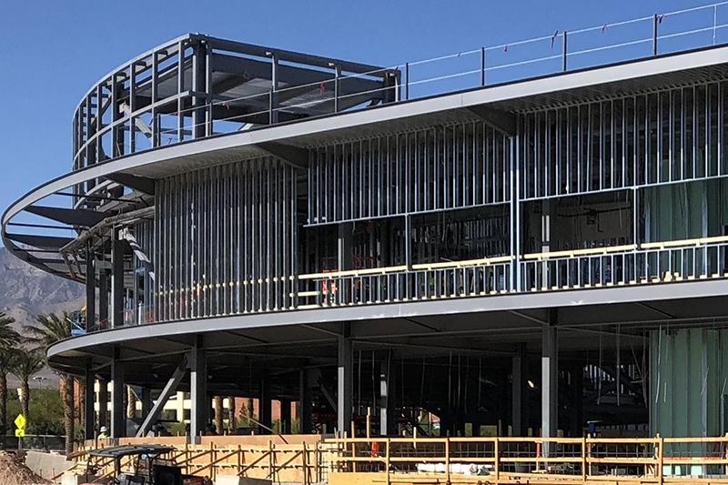 Las Vegas Ballpark M&H Building exterior project