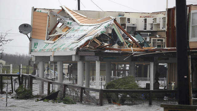 Hurricane Harvey Rockport, TX Structual Damage