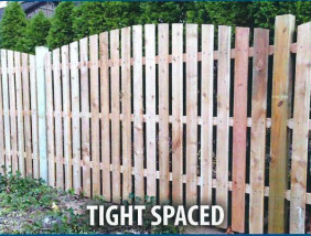 tight spaced