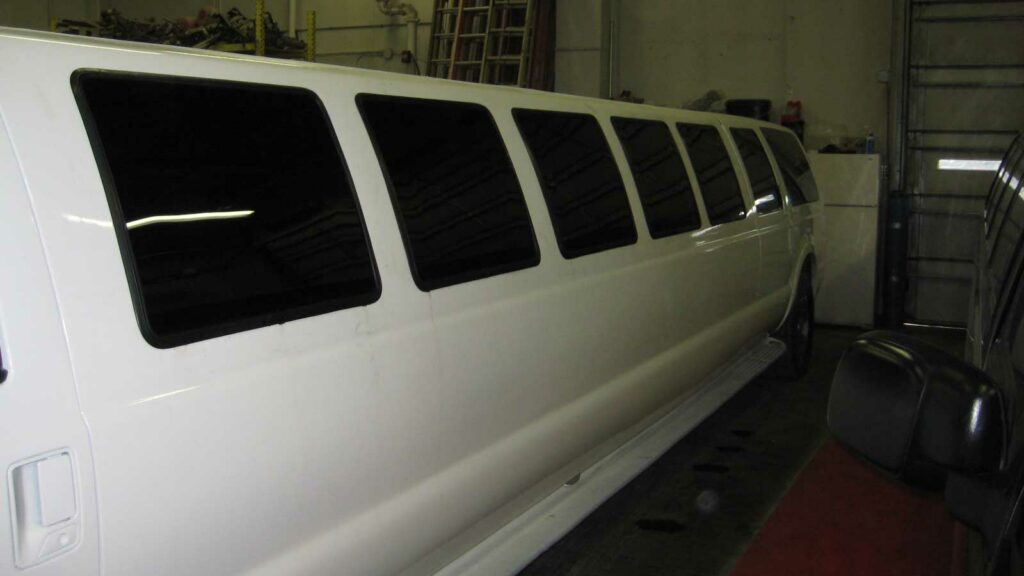 Limo with new windows