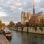 Notre-Dame Siene, River