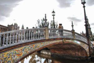 Picture of bridge in Seville Spain