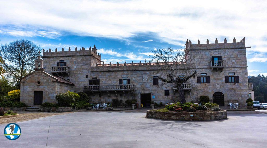 Hotel Pazo O'Rial in Galicia, Spain.