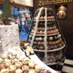 Schneeballen pastry in  Rothenburg ob der Tauber.