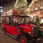 Christmas car in Rothenburg ob der Tauber