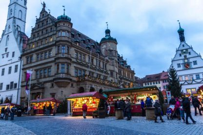 Christmas market in Rothenburg ob der Tauber