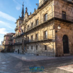 Town hall in Leon, Spain