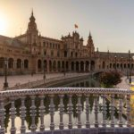 Plaza de Espana in Sevilla, Spain.