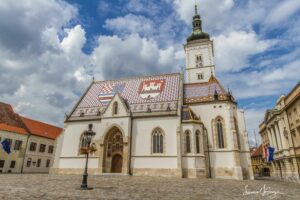 Zagreb Croatia church