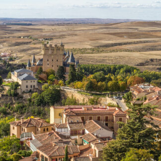 The castle of Segovia