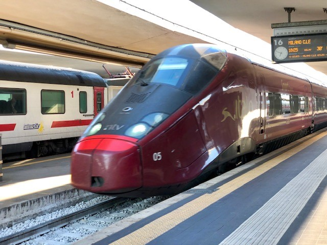 You can arrive in Parma via high-speed train from multiple cities in Italy.