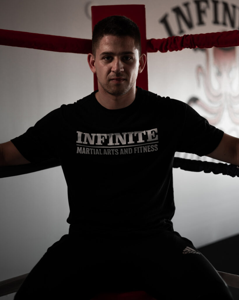 Derek Frohlich Boxing Strength & Conditioning Coach Belleville Infinite Martial Arts