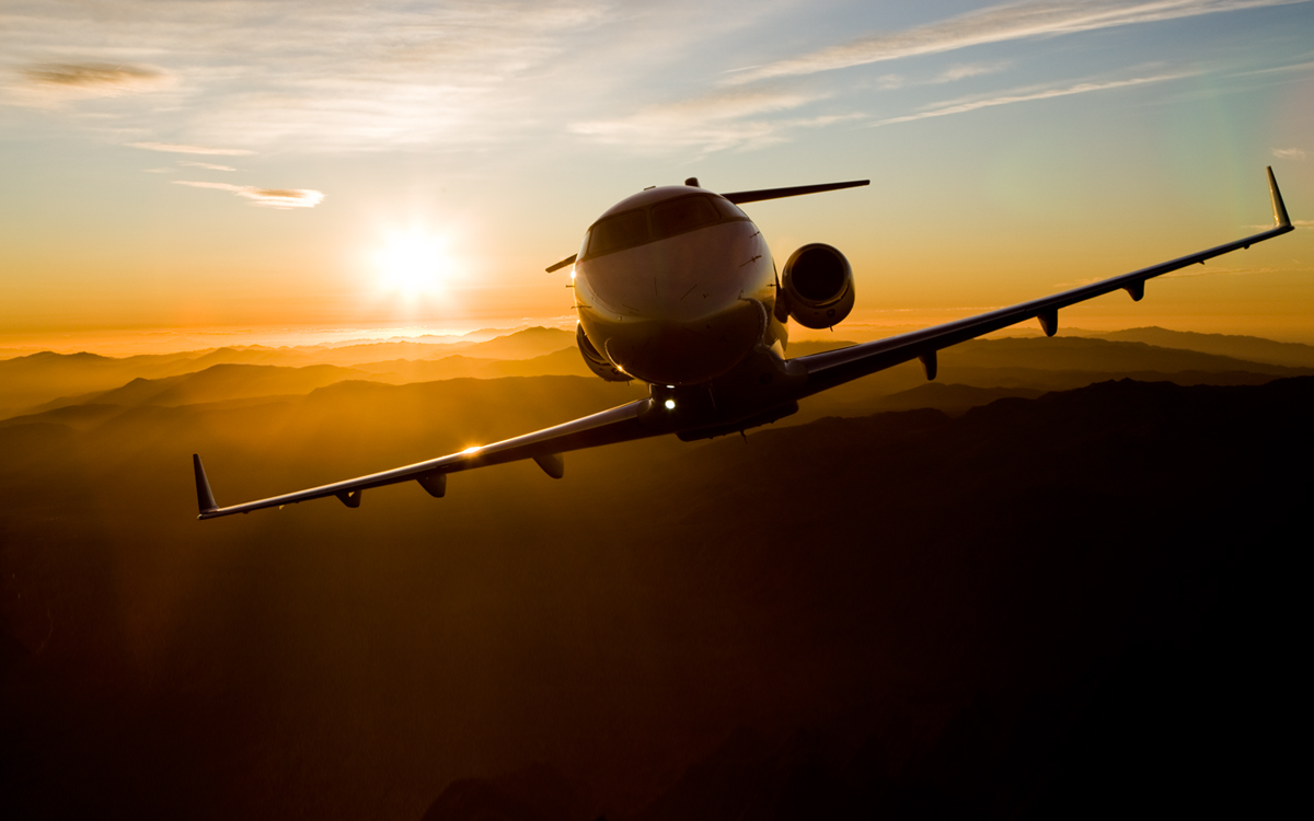 Challenger 350 stock photo 2