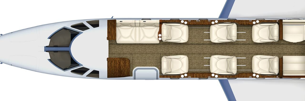 Citation Excel-XLS cabin layout