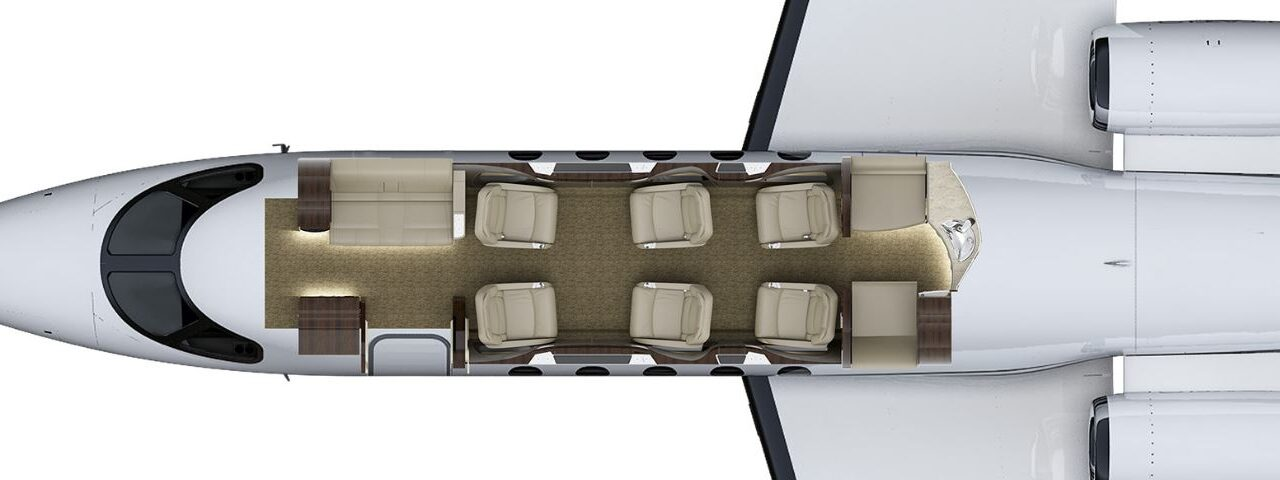 Citation Latitude Cabin Layout