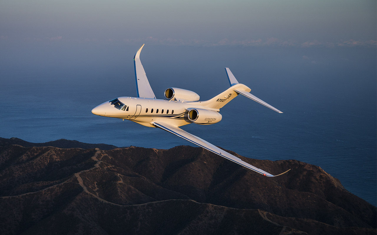 Citation X stock photo 1