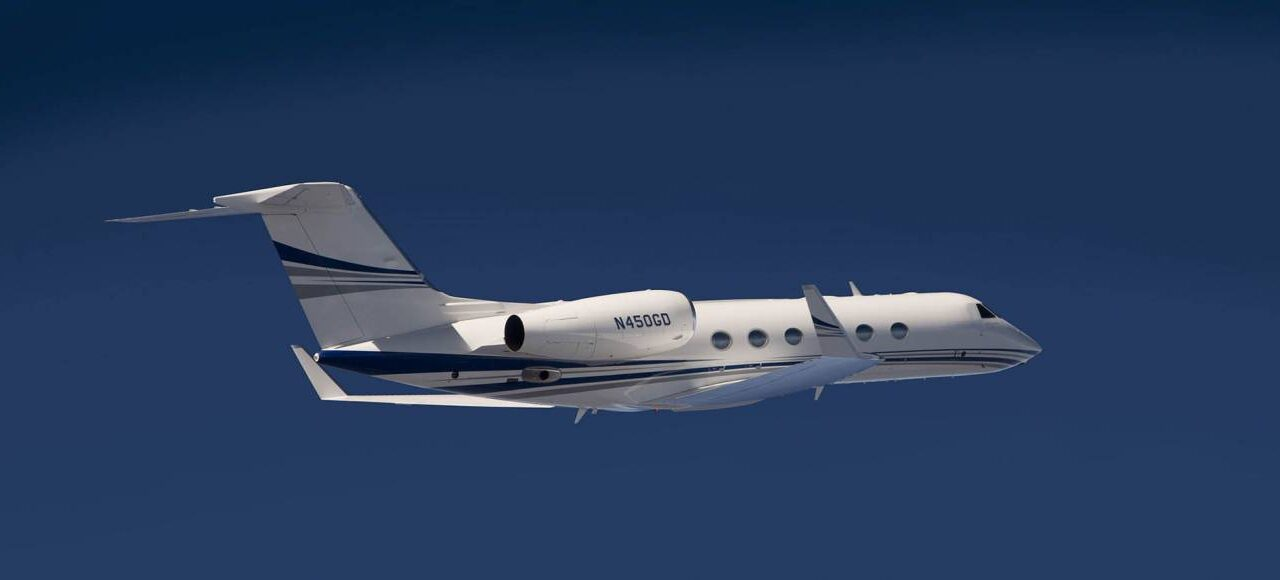 Gulfstream G450 Stock Photo 1