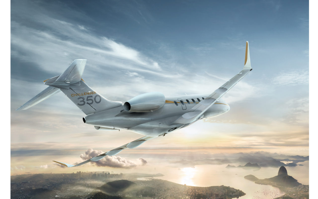 Challenger 350 for brochure