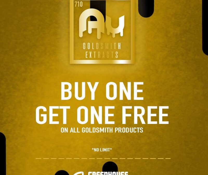 Buy 1 Get 1 Free Goldsmith Extracts