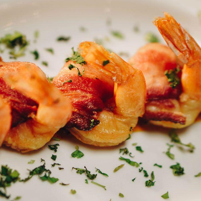 Shrimp and Bacon Dish