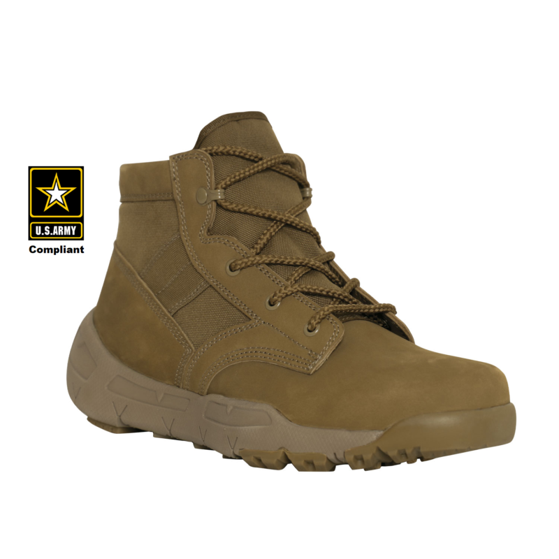 V-Max Lightweight Tactical Boot 6″ AR 670-1 Coyote Brown