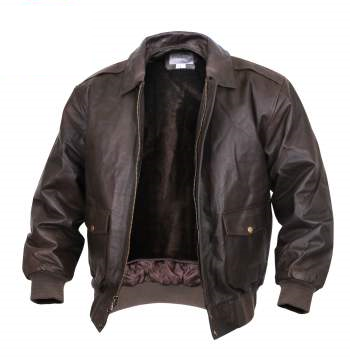 A-2 Leather Classic Flight Jacket