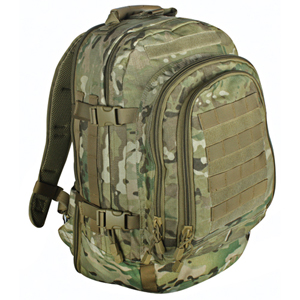 MultiCam Tactical Bulletproof Backpack Level IIIA