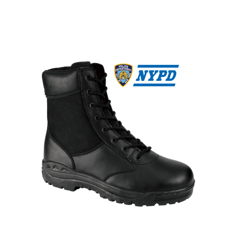 NYC Public Safety Boot 8″