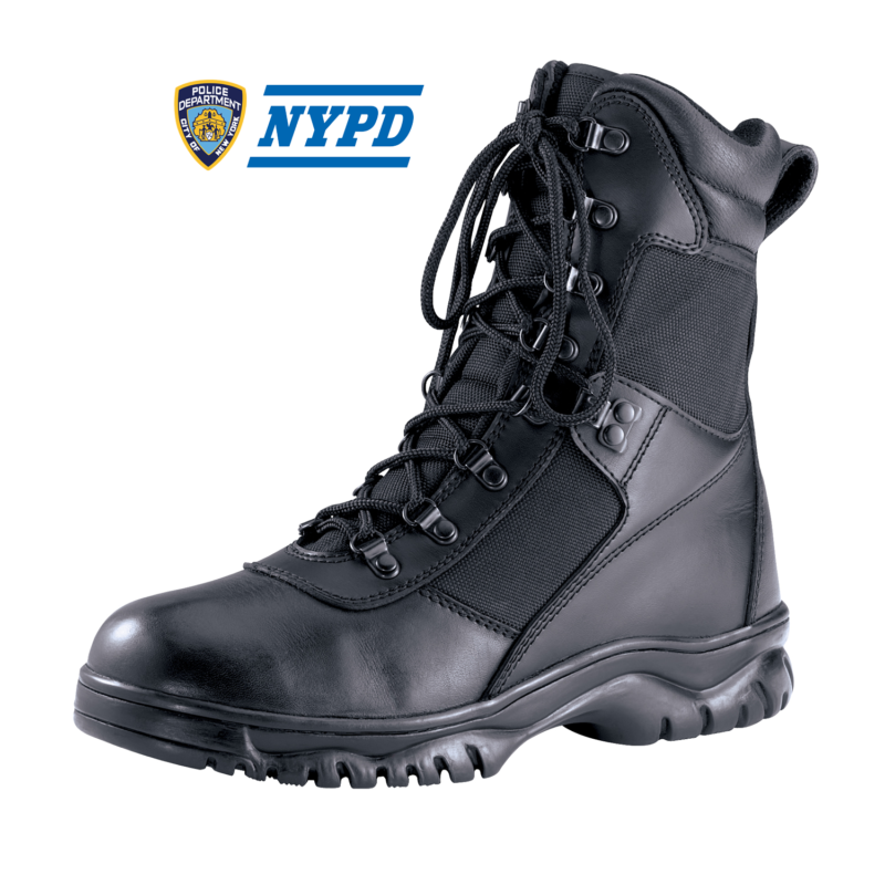 NYC Waterproof Public Safety Boot 8″