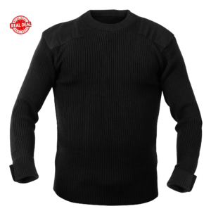 G.I. Style Black Commando Sweater