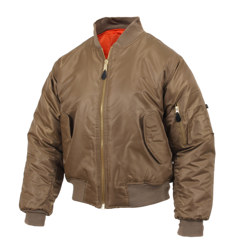 MA-1 Flight Jacket Coyote Brown